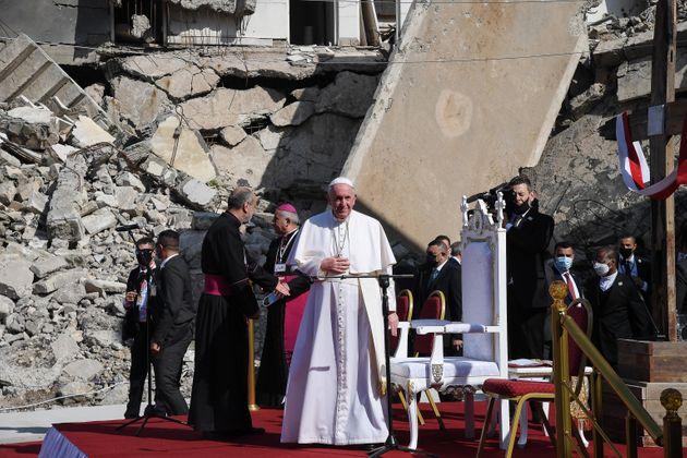 """Un papa """"pellegrino"""" in Iraq, l'Occidente lo ascolterà?"""