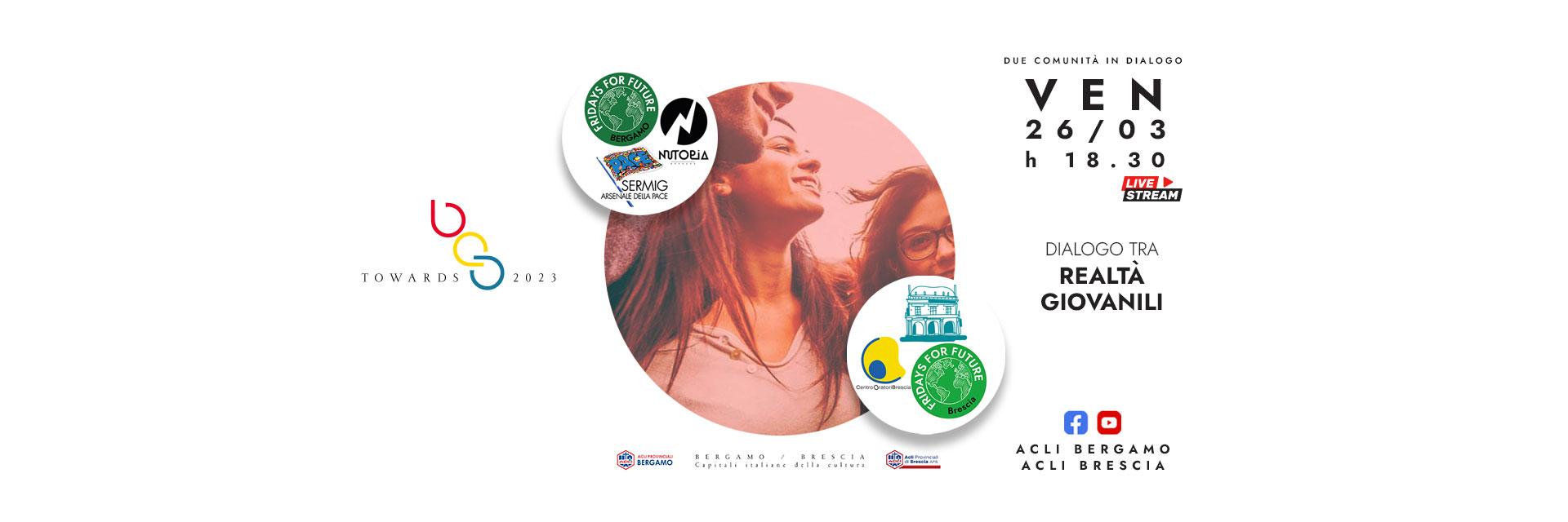 Towards 2023: ultimo dialogo tra realtà giovanili di Bergamo e Brescia