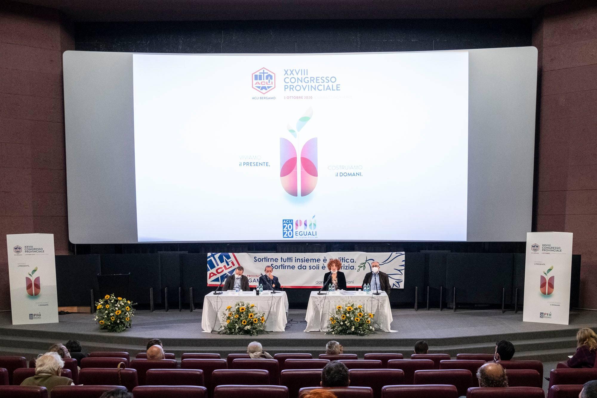 Il XXVIII Congresso delle ACLI di Bergamo