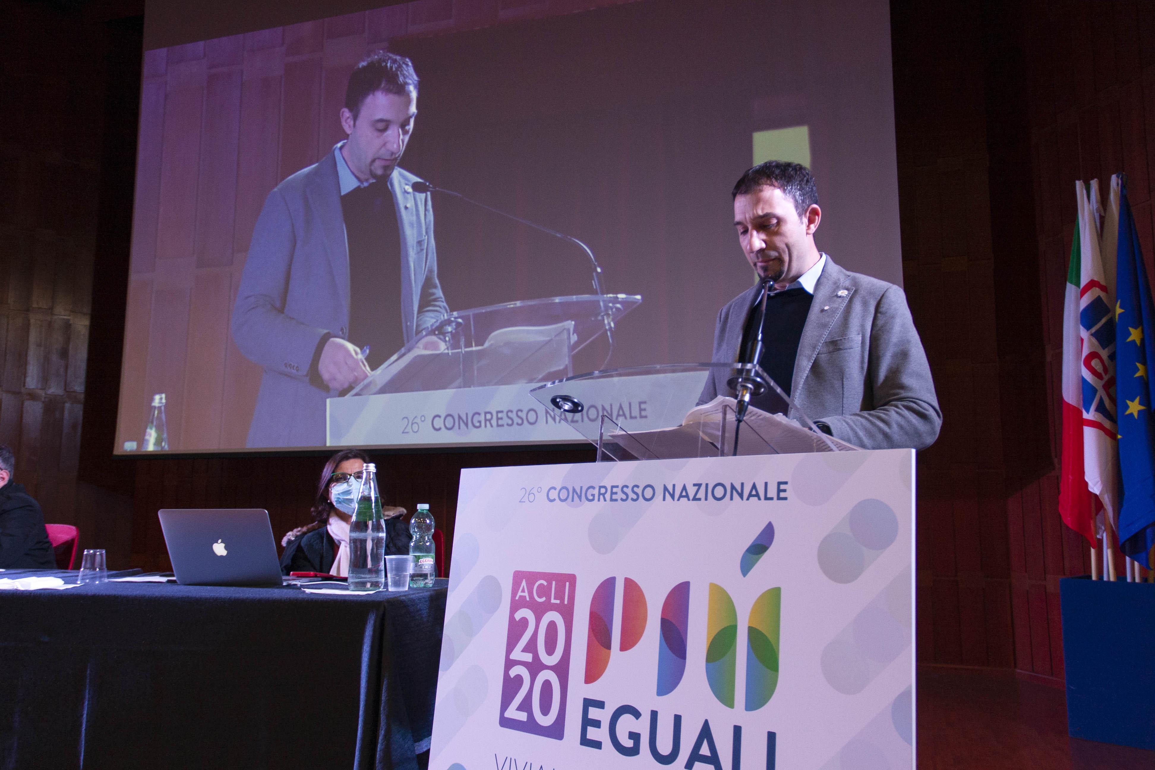 ACLI, Emiliano Manfredonia è il nuovo Presidente nazionale
